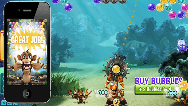 Bubble Safari Goes Mobile, Under the Sea