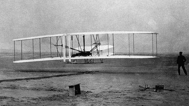 The Wright Brothers First Took To The Skies 109 Years Ago Today
