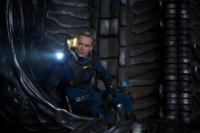 "Prometheus' Michael Fassbender, and First Look at the Rated ""R"" Ticket!"