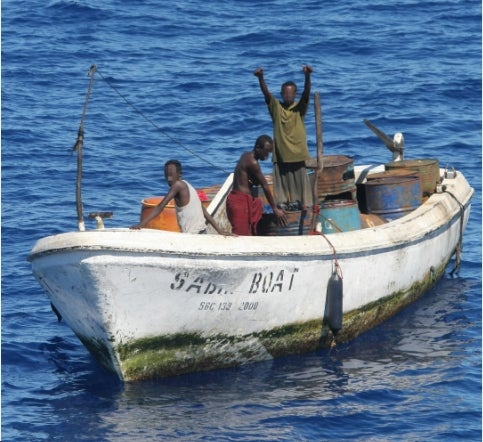 Somali Pirates on a Ship-Seizing Streak