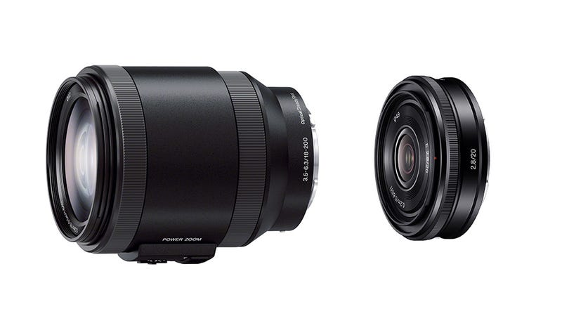 Sony Adds 2 E-Mount Lenses to the Lineup—One Teeny, One Beefy