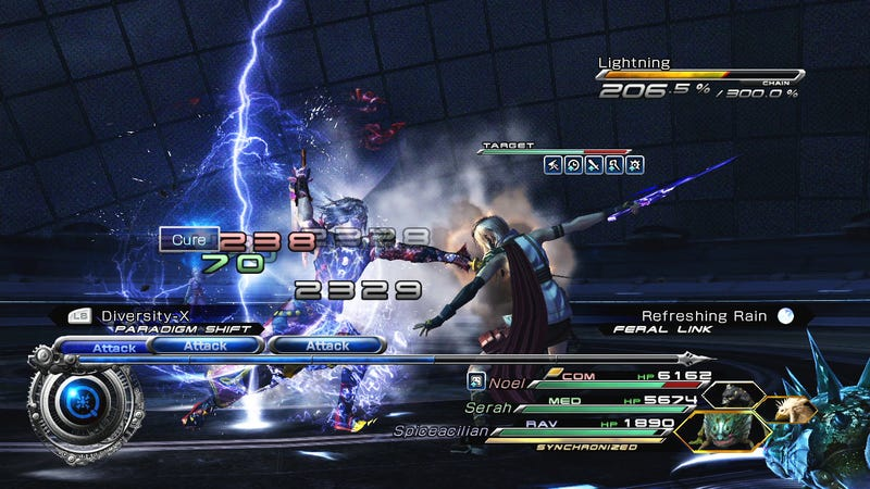 Final Fantasy XIII-2 DLC Lets Players Fight With and Against Lightning