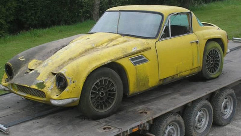 How One Gearhead Rescued His Father's TVR From Oblivion And Is Breathing New Life Into It