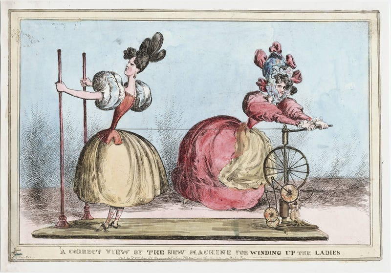 No, corsets did not destroy the health of Victorian women