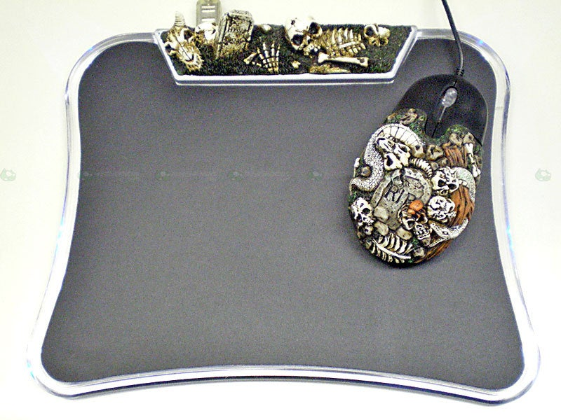 Bring the Sweet Stench of Death to Your Desk With More Gothic Peripherals