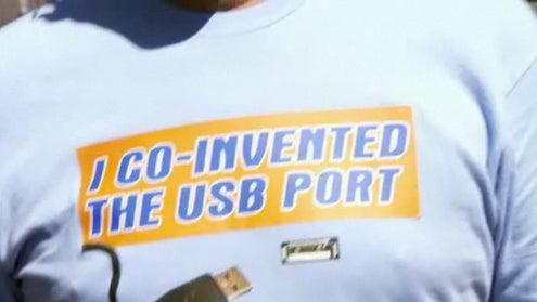 Conan Interviews Co-Inventor of USB, Does Convincing Nerd-Speak