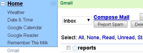 Use iGoogle's Gmail Gadget to Get Around Blocked Gmail