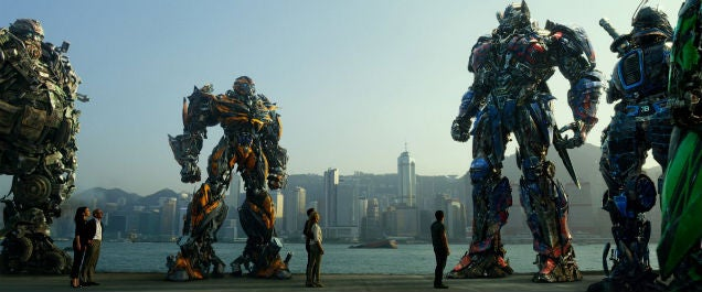 The Samurai Robot Isn't Racist, He's The Best Part Of Transformers 4