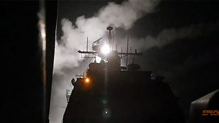 Videos: US Navy launches Tomahawk missiles against ISIS in Syria