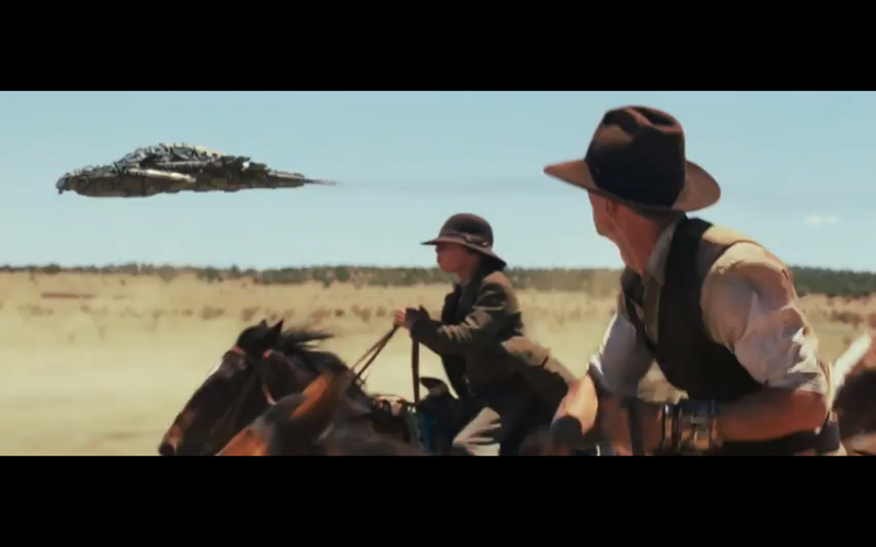 Cowboys and Aliens Looks DOPE
