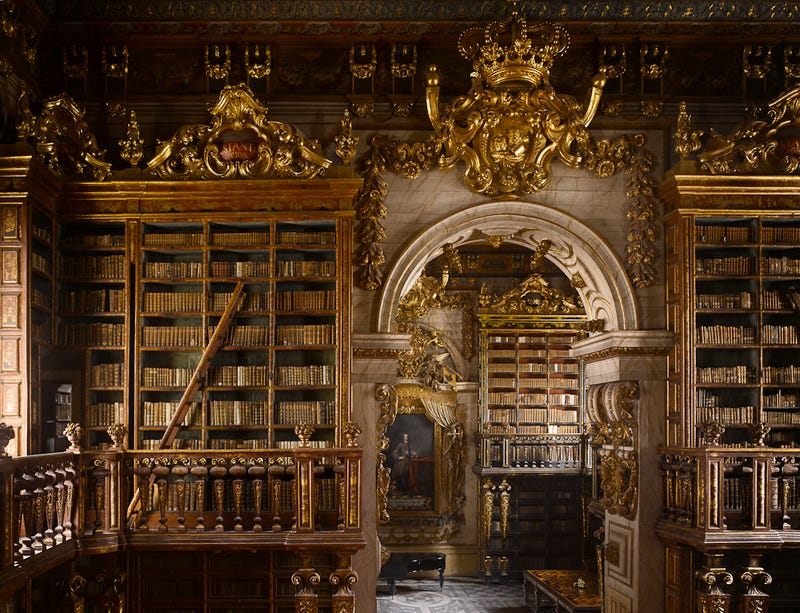 These are the most beautiful libraries we've ever seen