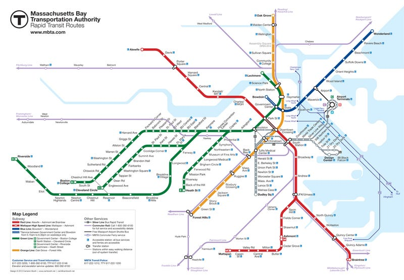Artist Says The Last of Us Ripped Off His Boston Subway Map Redesign [Update]