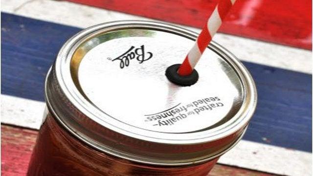 Convert a Mason Jar Into a Spill Proof Cup
