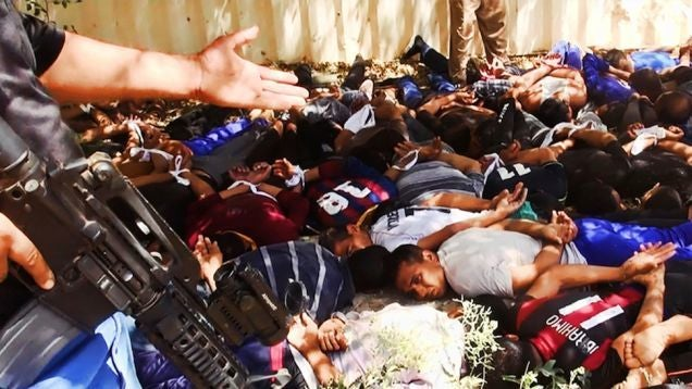 ISIS Mass Executed Up to 770 Iraqi Soldiers, New Evidence Confirms