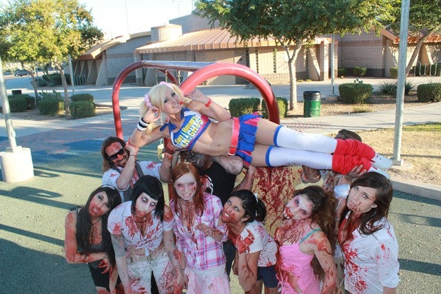 From Skyrim to Lollipop Chainsaw, This Lady Does It All