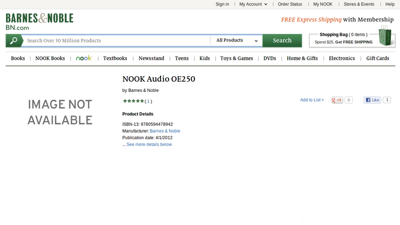 What Is This Mysterious New Nook Audio Device?