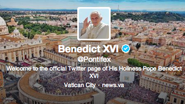 Here's the Pope's First Tweet