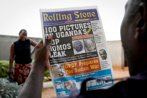 Ugandan Tabloid Publishes List of 100 'Top Homos', Calls for Their Hanging