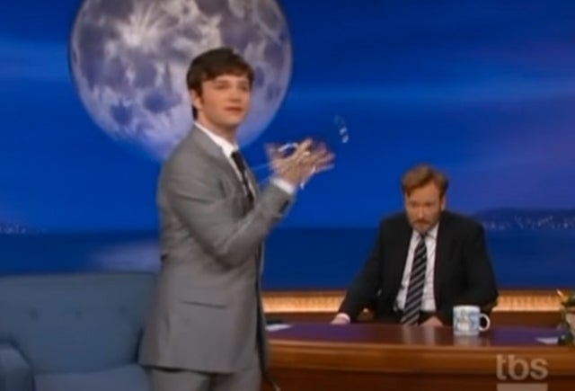 Glee's Chris Colfer Demonstrates The Art Of Ninja