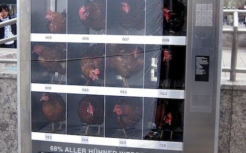 A Chicken Vending Machine Isn't What You Think It Is