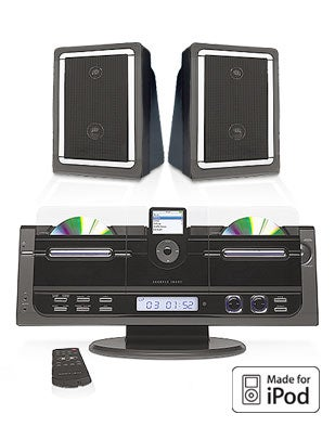 New, Discounted Sharper Image iPod-Ready Speaker Docks