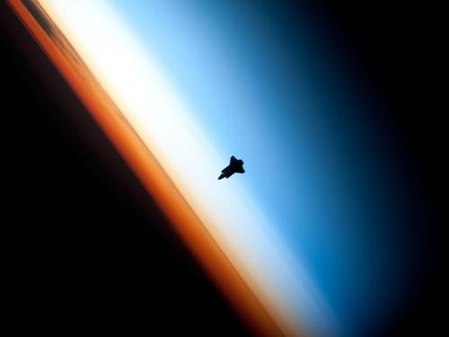 The Precarious Light-Filled Vista From The International Space Station