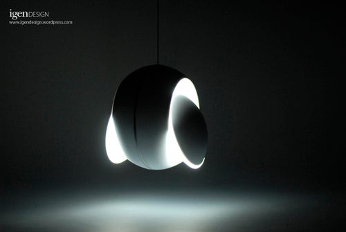 Transforming Nissyoku Solar Eclipse Lamp Powered By LED, Not Fusion