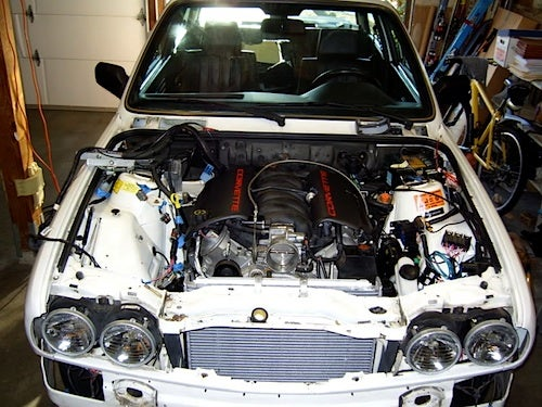 Super Sleeper: How To Build A Corvette-Engined BMW 3-Series