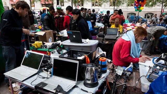 Occupy Wall Street Gets Much-Needed Help from PR Firm