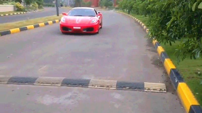 Watch These Little Kids Drive A Real Ferrari