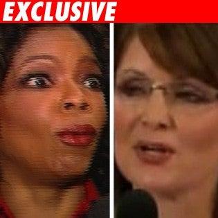 Palin Won't Visit Noted Tough Interviewer Oprah