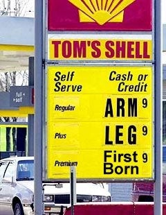 Guess What Yesterday Was? Record High Gas Prices Day!