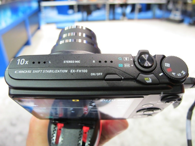 Hands On Casio's EX-FH100 High Speed Exilim Camera: Slow Mo Tech is Maturing