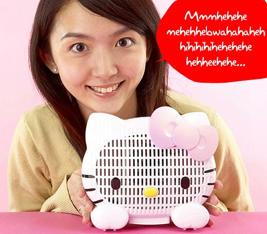 Hello Kitty Air Purifier Eliminates Odors, Converts You Into A Psychopath