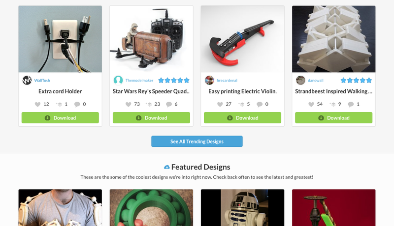 Top 10 Places to Find Awesome Things to 3D Print