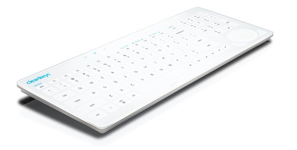 Evict Bacteria With the Cleankeys Touch Sensitive Keyboard