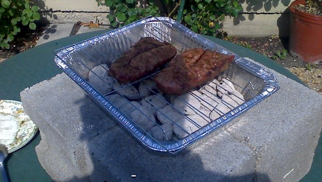 Grill Out On The Cheap With a Lasagna Pan