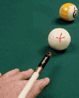 Laser Sighted Cues Help Beginners Line up Their Balls