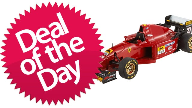 This Hot Wheels Elite Ferrari 412 T2 Is Your Vroom-Vroom Deal of the Day
