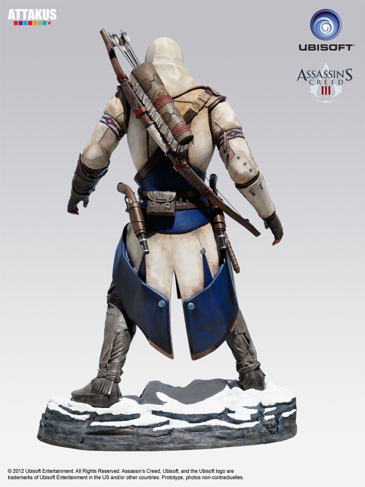 Now Everyone Can Make Out With Assassin's Creed III's Connor