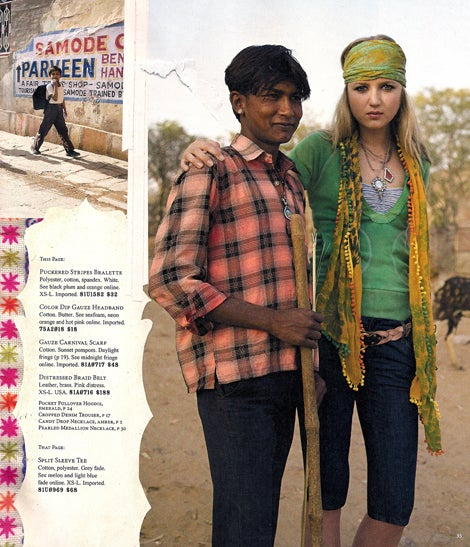 Free People: Someone Watched The Darjeeling Limited Before Booking This Photo Shoot