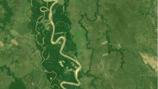 ¿Por qué los ríos forman meandros?