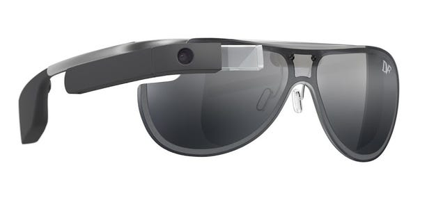 Google's First Fashionable Glass Frames: Perhaps Not That Fashionable?