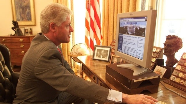 Bill Clinton Only Sent Out Two E-Mails During His Presidency