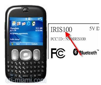 HTC Iris FCC Approved, Looks Like a Moto Q