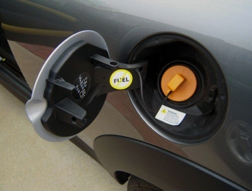 REMINDER: Do Not Put Gasoline In Your Electric Car!