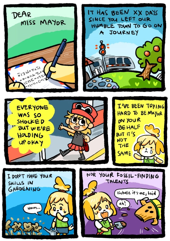 Dear Pokémon Players: Your Animal Crossing Town Misses You