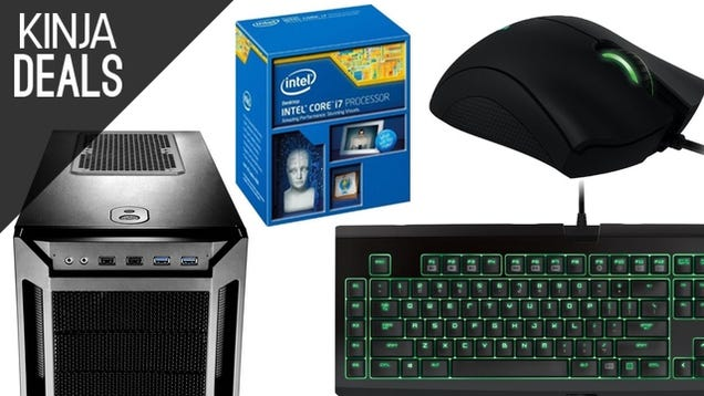 Build a PC and Upgrade Your Gaming Gear With Today's Gold Box Deals