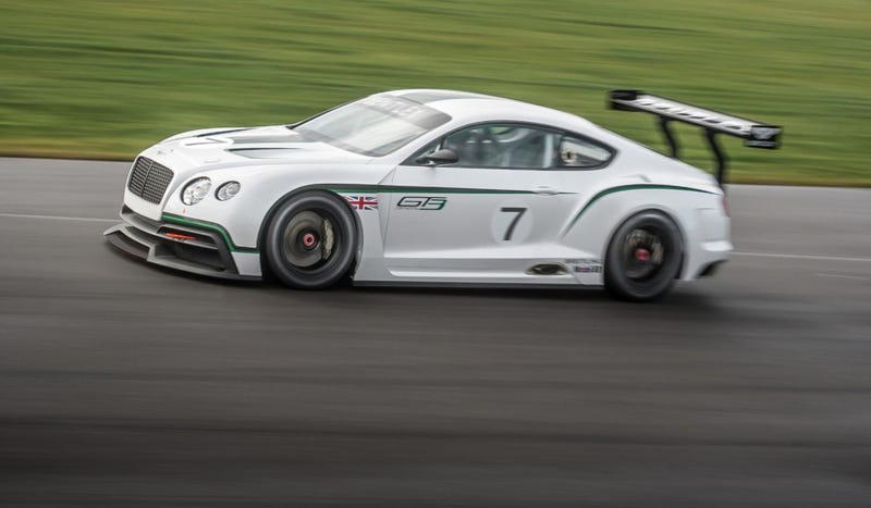 Bentley Continental GT3: The Badass Bentley That's Going Back To Le Mans