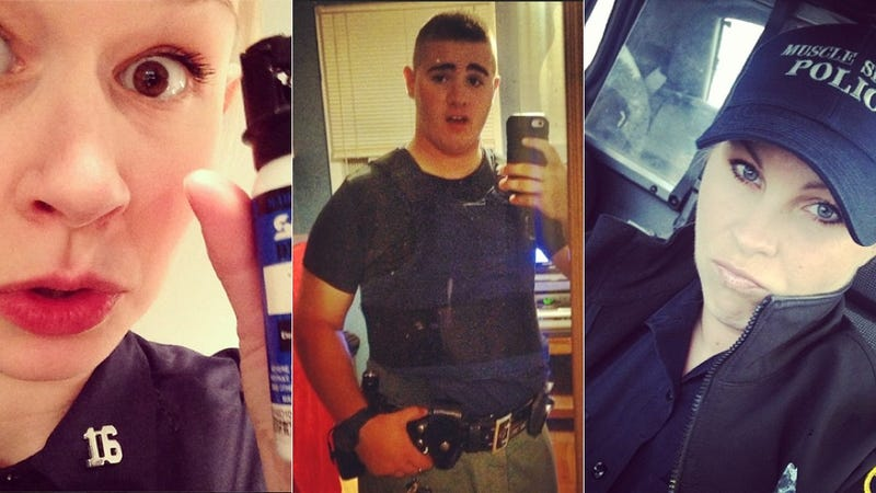 Cops Love Taking Selfies, Too